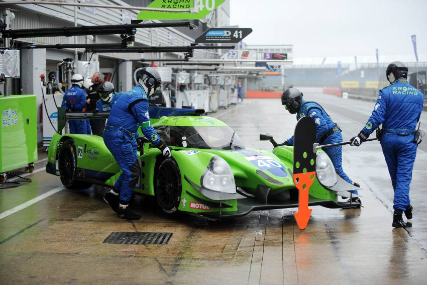 Challenging times for Krohn Racing at ELMS Silverstone Qualifying