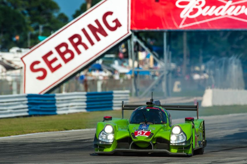Krohn Racing's Olivier Pla Takes Pole Position for the 12 Hours of Sebring
