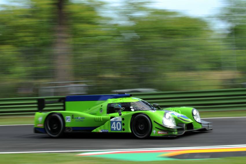 Fortune fails to smile on Krohn Racing at the 4 Hours of Imola