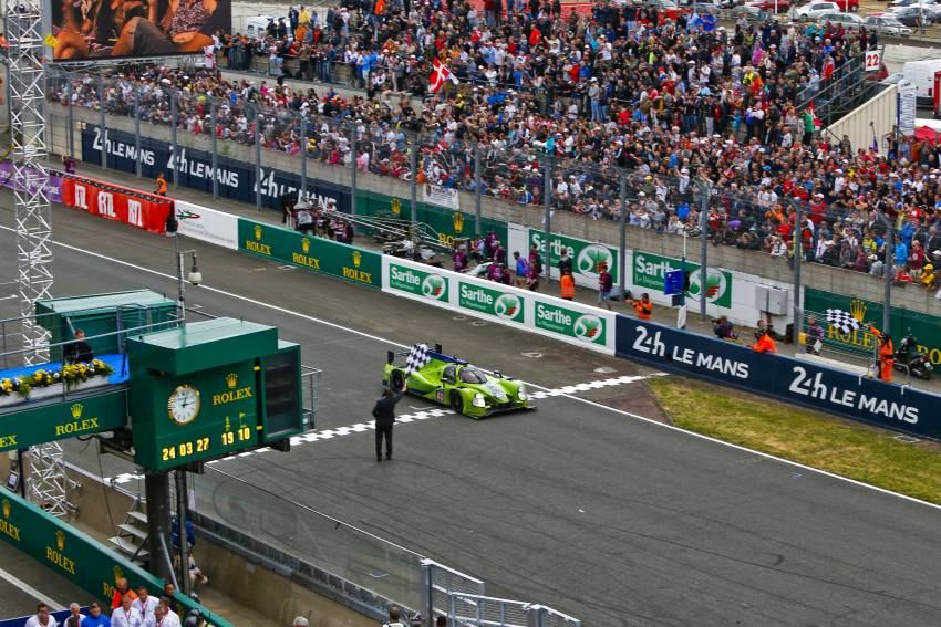 Krohn Racing Has Challenging Race But Finishes 2015 Running of the 24 Hours of Le Mans
