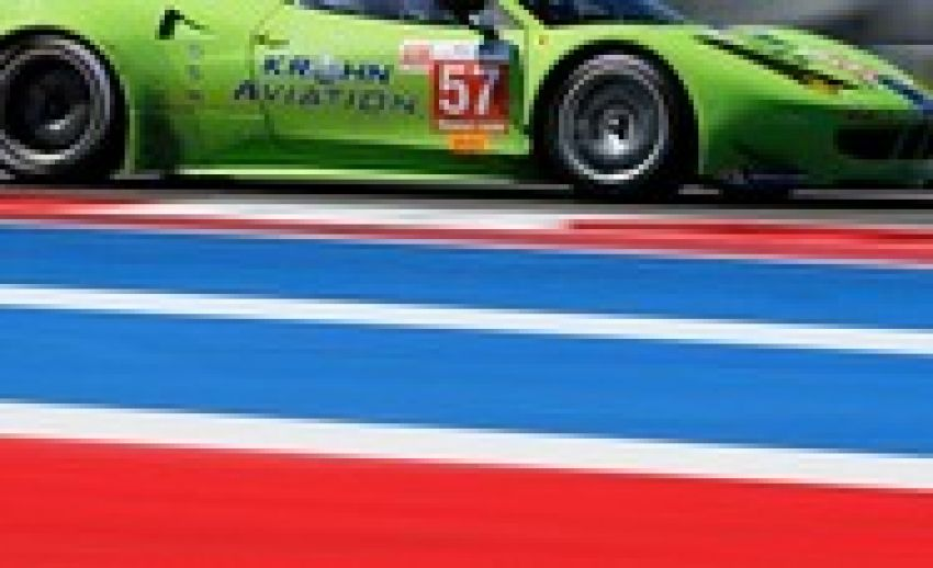 Krohn Racing Returns to Home Track for Six Hours of Circuit of the Americas